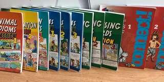 18 titles of Asia PAC Comics & Idiom books