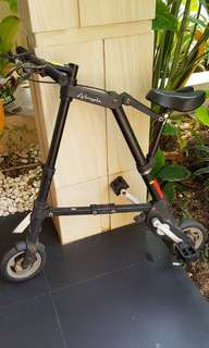 Sepeda Lipat A-Bicycle (folding bike)