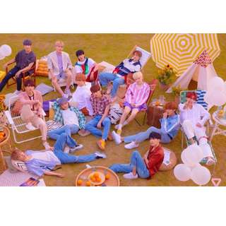 SEVENTEEN 海報 YOU MAKE MY DAY Poster