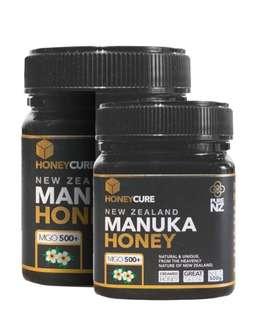 HONEYCURE - 紐西蘭 MGO500+ 麥盧卡蜂蜜 (250g/500g)
