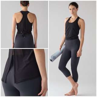 SIZE 4 Lululemon ,Two With One Singlet
