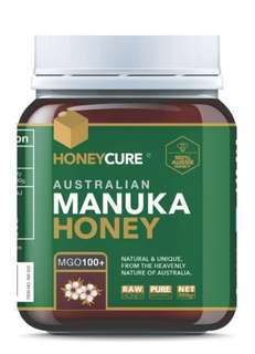 HONEYCURE - 澳洲 MGO100+ 麥盧卡蜂蜜 (500g)
