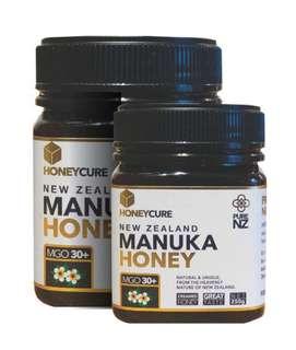 HONEYCURE - 紐西蘭 MGO30+ 麥盧卡蜂蜜 (250g)