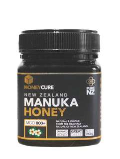 HONEYCURE - 紐西蘭 MGO800+ 麥盧卡蜂蜜 (250g)