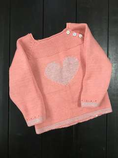 ZY knotted sweatshirt