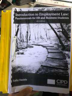 Introduction to employment law : fundamentals for HR and business students by Kathy daniels