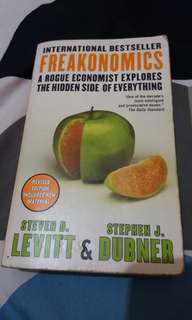Freakonomics by Levitt and Dubner