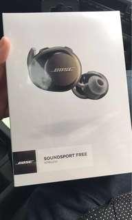 全新未拆包裝 Bose soundsport free