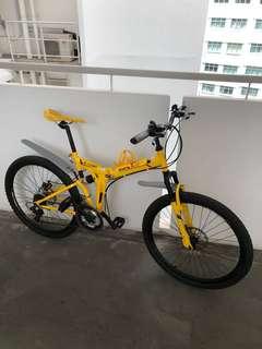 "Foldable Mountain Bike ""26"