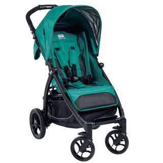 Peg Perego Booklet Aquamarine with optional handle attachment included