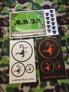 SOPH /x3 sticker 收藏物