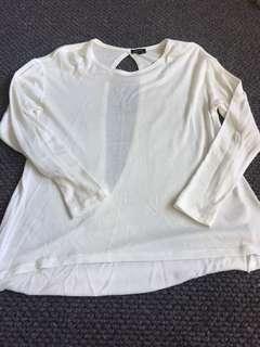 Bardot Cream Lightweight Knit - size 6