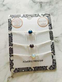 Lovisa semi- precious stones bracelets