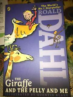Roald Dahl | The Giraffe And The Pelly And Me