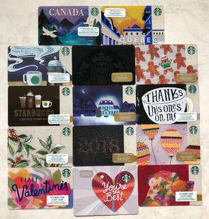 Starbucks Card - Canada and US