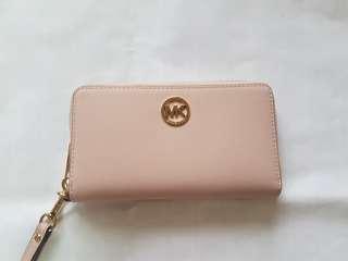 Michael Kors Nude Pink Travel Wallet