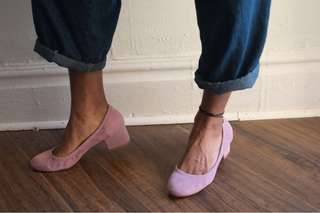 Jeffery Campbell/Free People Lilac Pumps - Like New