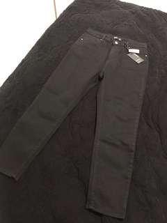 Glassons black cropped jeans