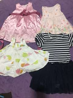 Baby combo - Free ( Used pre-loved baby clothes)