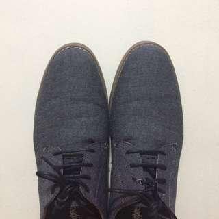 Lee Cooper Denim Sneakers Gray