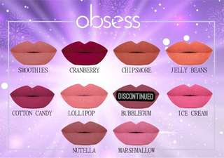 Obsess Cosmetics Lipmatte