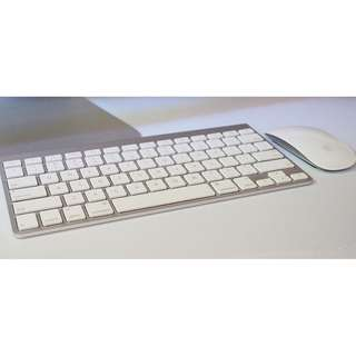 Apple keyboard & mouse