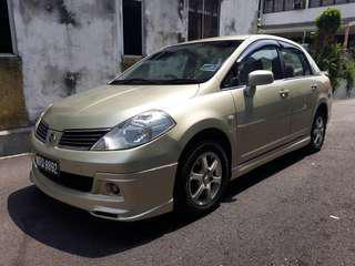 Nissan Latio 1.5(a) b/list boleh DAPAT loan h/p 0162191010