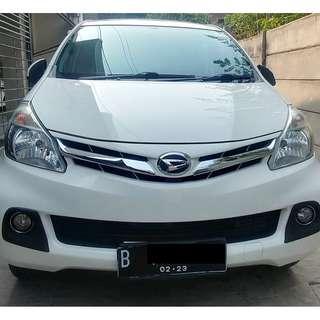 Daihatsu Xenia 2013 1.3 R DLX Deluxe 2013 Putih - KM 18 Ribu ASLI