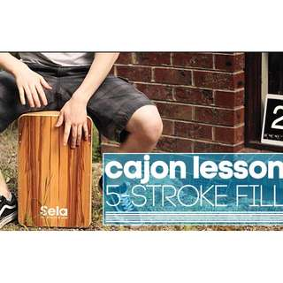 Cajon Lessons in the East!