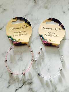 Nature's gift crystal bracelet