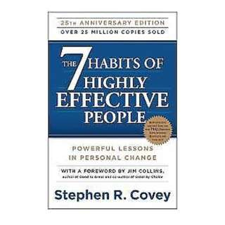 The 7 Habits of Highly Effective People by Stephen R. Covey - PDF Book !