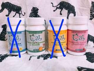 🚚 吉沛思 貓咪保健品 離胺酸 牛磺酸 益生菌 蔓越莓
