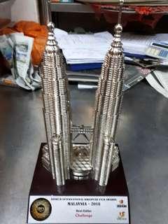 KLCC tower souvenier 36 cm