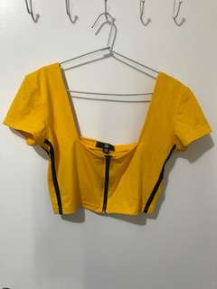 Misguided crop top