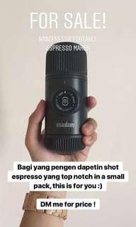 Nanopresso Espresso Maker