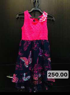 Girls Hi-Low Sunday Dress