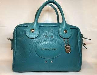 Longchamp 牛皮手袋