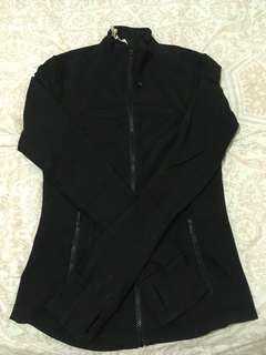 Lululemon Black zip up sweater