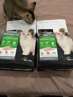 🚚 black hawk 貓飼料+kit cat罐頭