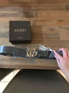 Ladies belt new not used Gucci  fits a 10-12-14 can put more holes in