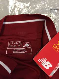 Authentic Liverpool New Balance Home 2018-19 Jersey
