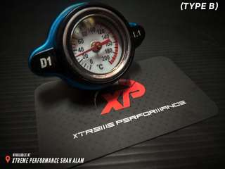 Radiator Cap D1 SPEC with pressure display 1.3KG Type B High Pressure