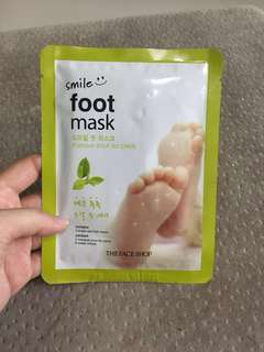 BN The Face Shop Foot Mask