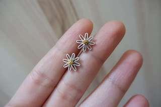 🚚 小花耳針耳環