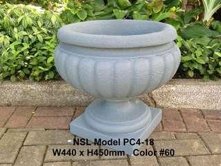 玻璃䊹维花盆Fibreglass flower pot