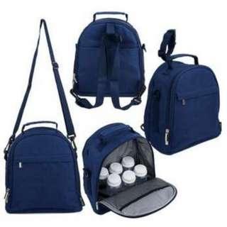 Autumnz Classique Cooler Bag (Navy Blue)