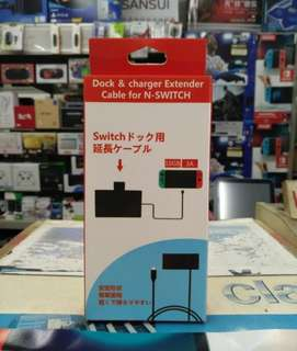 🆕 Nintendo Switch Extender Cable For The Dock And Charger