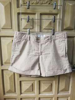 Plus size khaki shorts