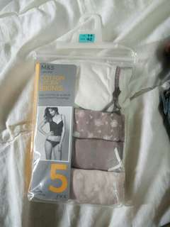 Marks & Spencers 5pcs bikini underwear