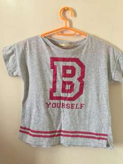 Gray top for Girls